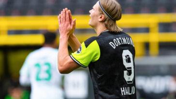 Haaland pourrait rejoindre le Real Madrid en 2022 (iconsport)
