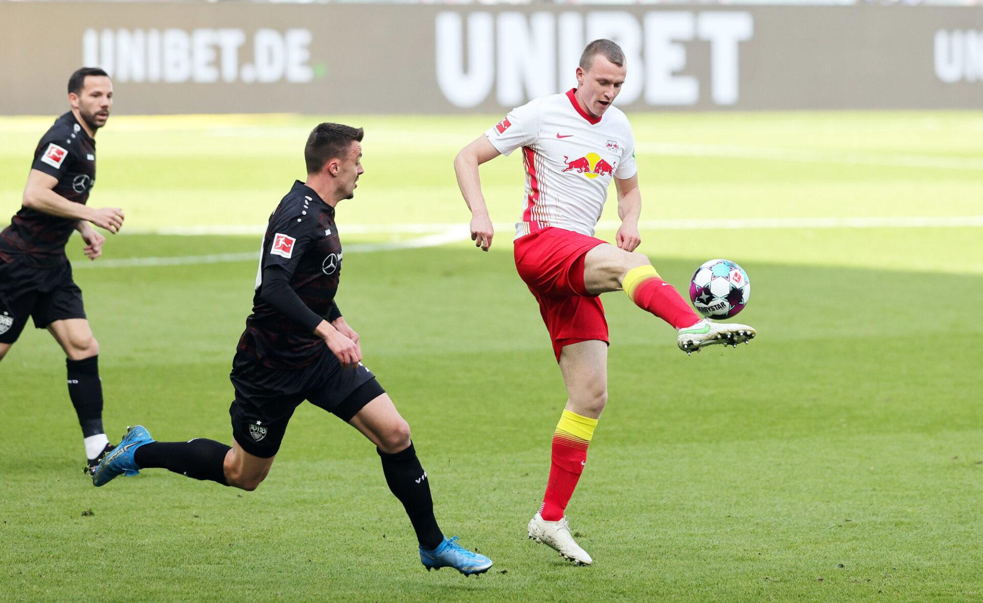 Lukas Klostermann a été repositionné défenseur central par Julian Nagelsmann. Icon Sport