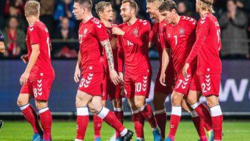 Le Danemark affrontera la Finlande, la Belgique et la Russie durant l'Euro (iconsport)