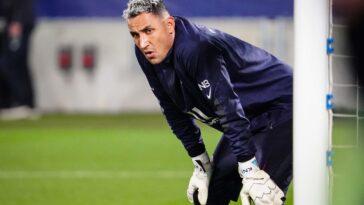 Keylor Navas élu meilleur gardien de Ligue 1 (iconsport)