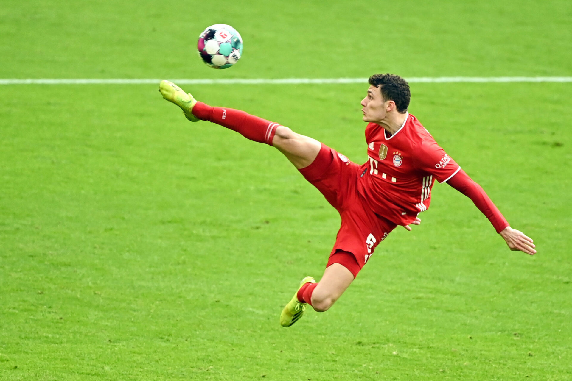 Benjamin Pavard a l'habitude d'évoluer en haute altitude avec le Bayern. Icon Sport