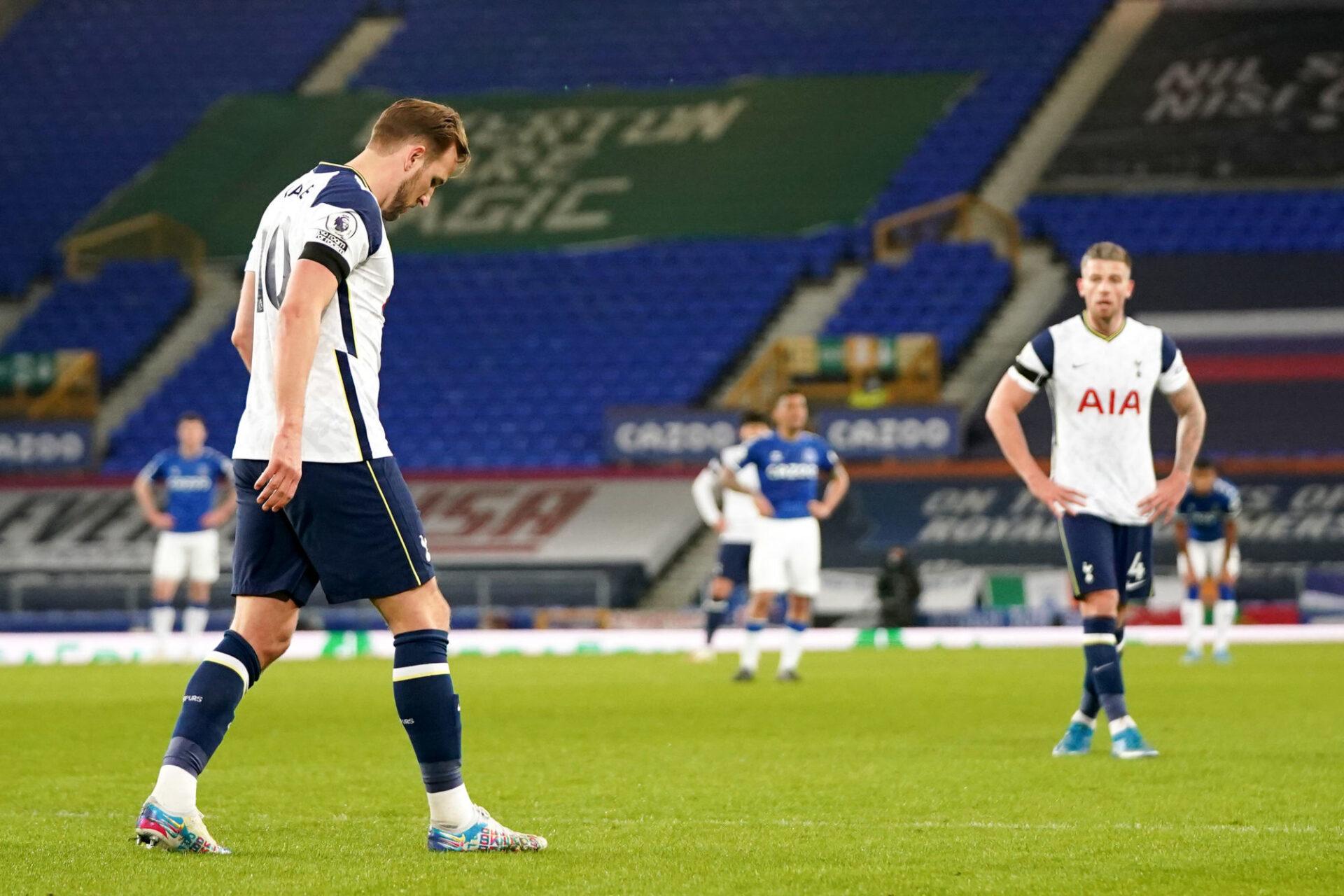 Harry Kane n'en peut plus de ne rien gagner avec Tottenham (iconsport)