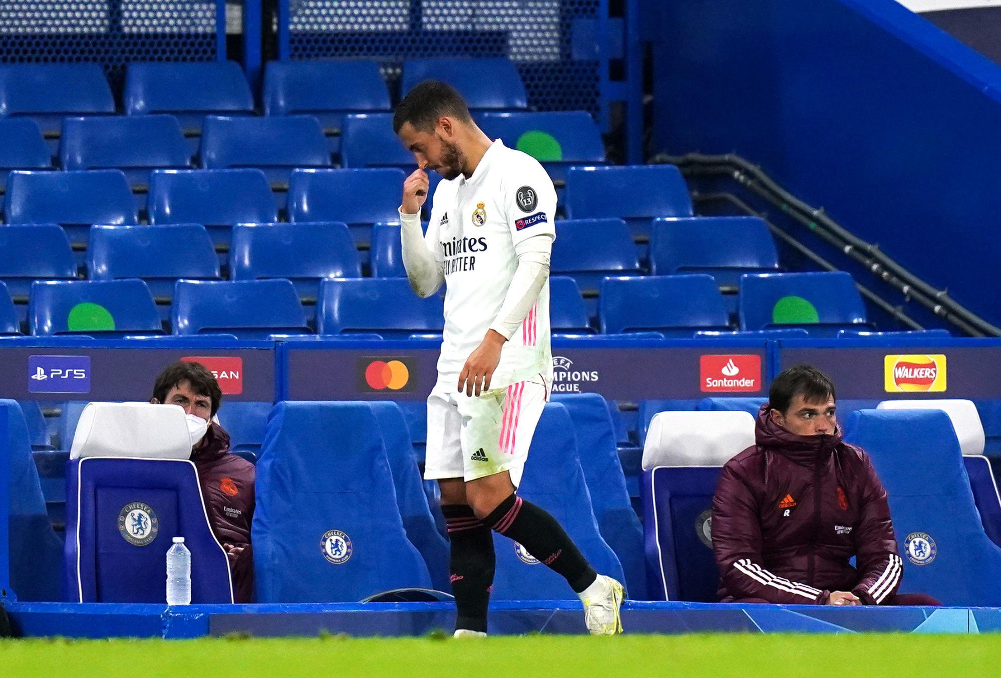 En perdition au Real Madrid, Eden Hazard va-t-il renaître de ses cendres à l'Euro cet été ? Icon Sport
