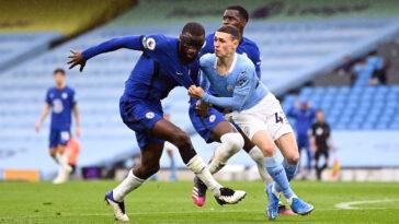 La finale entre Manchester City et Chelsea se déroulera ce samedi soir (iconsport)