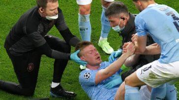 Kevin De Bruyne souffle d'une double fracture, à douze jours du début de l'Euro. Icon Sport