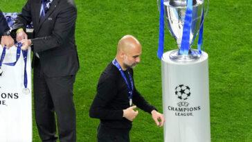Pep Guardiola n'a pas jugé bon de faire son autocritique après la finale de Ligue des champions perdue contre Chelsea (0-1). Icon Sport