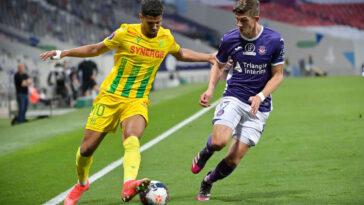 Ligue 1, Barrages : Nantes s'impose à Toulouse et fait la moitié du chemin (iconsport)