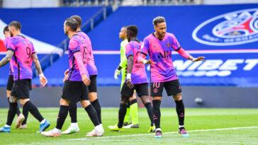 Neymar avait ouvert le score pour les Parisiens (iconsport)