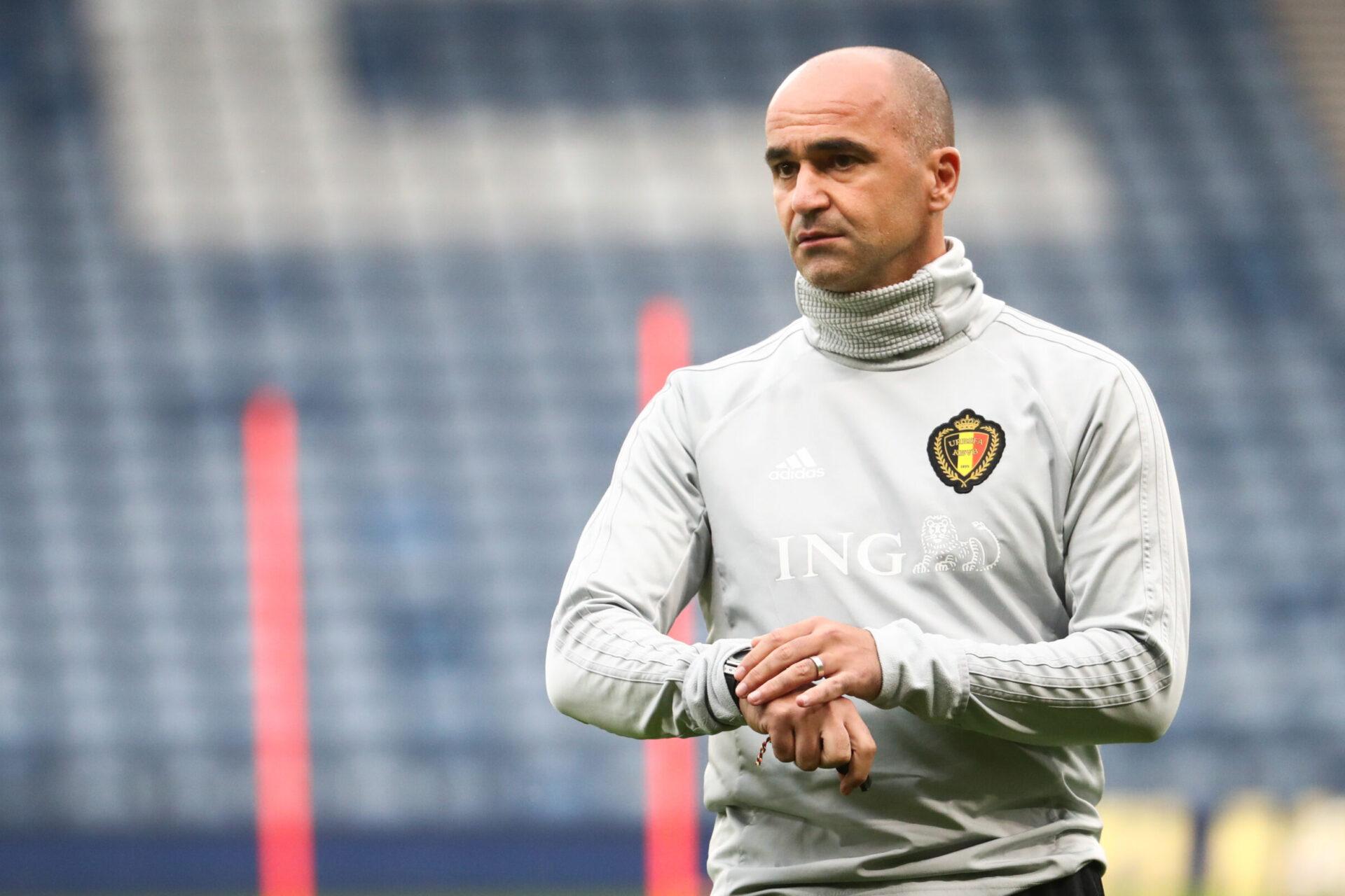 Sélectionneur depuis 2016, Roberto Martinez souhaiterait retrouver un club après l'Euro (iconsport)