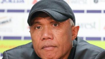 Waldemar Kita, le président du FC Nantes, a confirmé Antoine Kombouaré comme entraîneur la saison prochaine après le maintien décroché dimanche 30 mai. Icon Sport