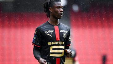 Eduardo Camavinga souhaiterait quitter Rennes et rejoindre le PSG cet été (iconsport)