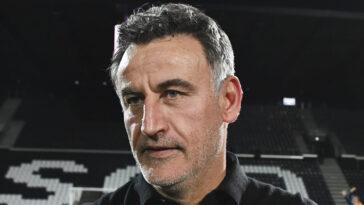 Christophe Galtier a annoncé son départ de Lille. Icon Sport
