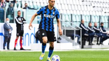 PSG, Mercato : Achraf Hakimi (Inter Milan) dans le viseur de Leonardo (iconsport)