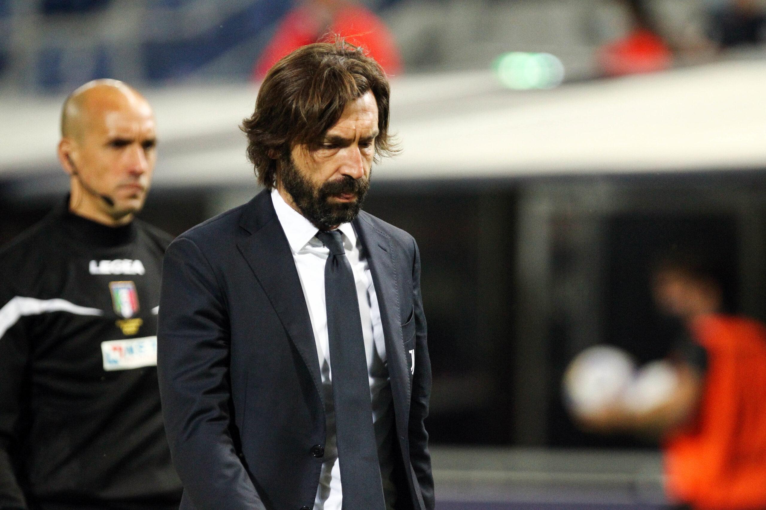 Andrea Pirlo quitte la Juventus après une seule saison à sa tête (iconsport)