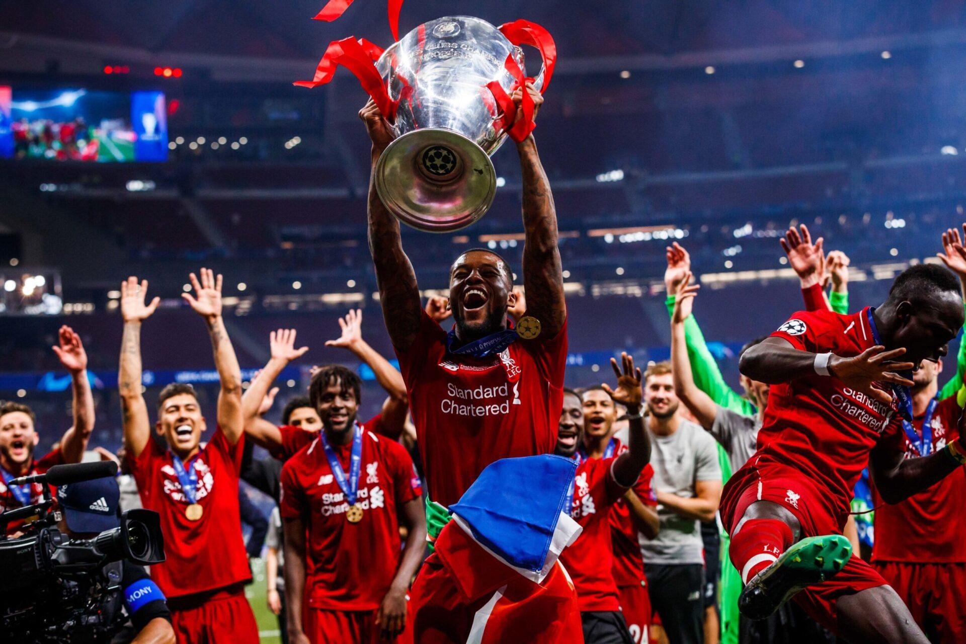 Georginio Wijnaldum a remporté de nombreux trophées avec Liverpool, dont la Ligue des Champions en 2019 (iconsport)