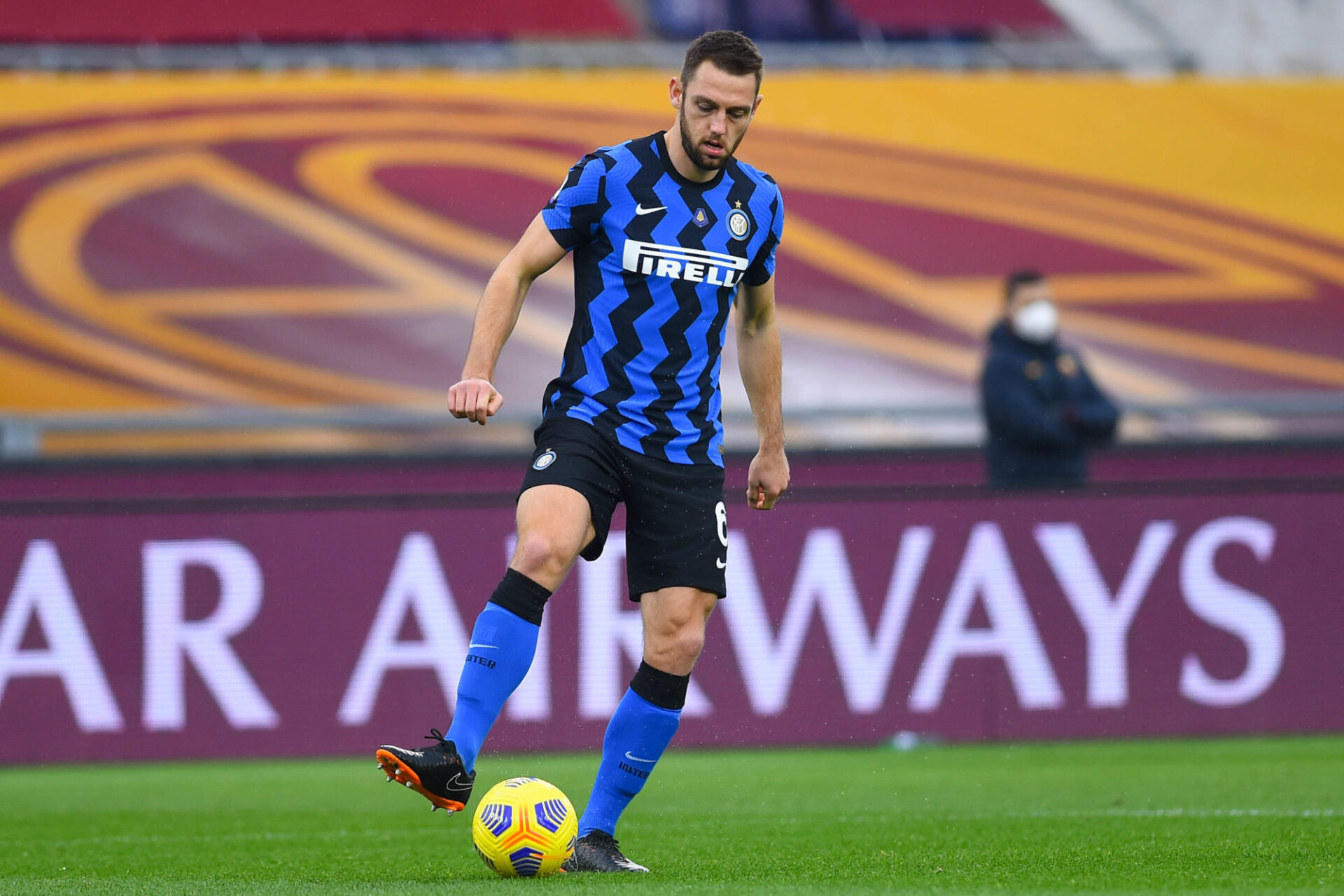 Stefan de Vrij, le taulier de l'Inter. Icon Sport