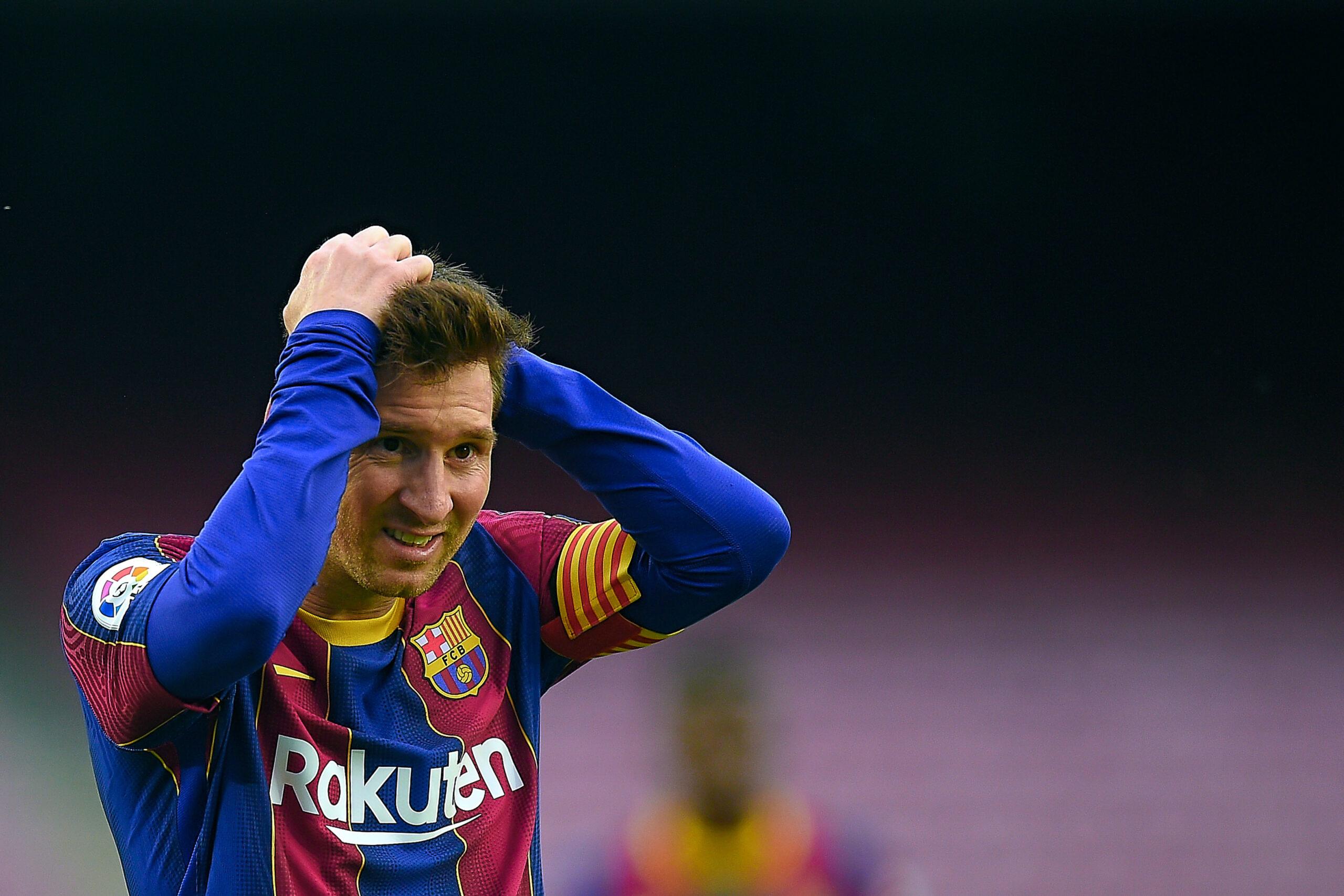 Barcelone est peut-être prêt à lâcher Messi (iconsport)