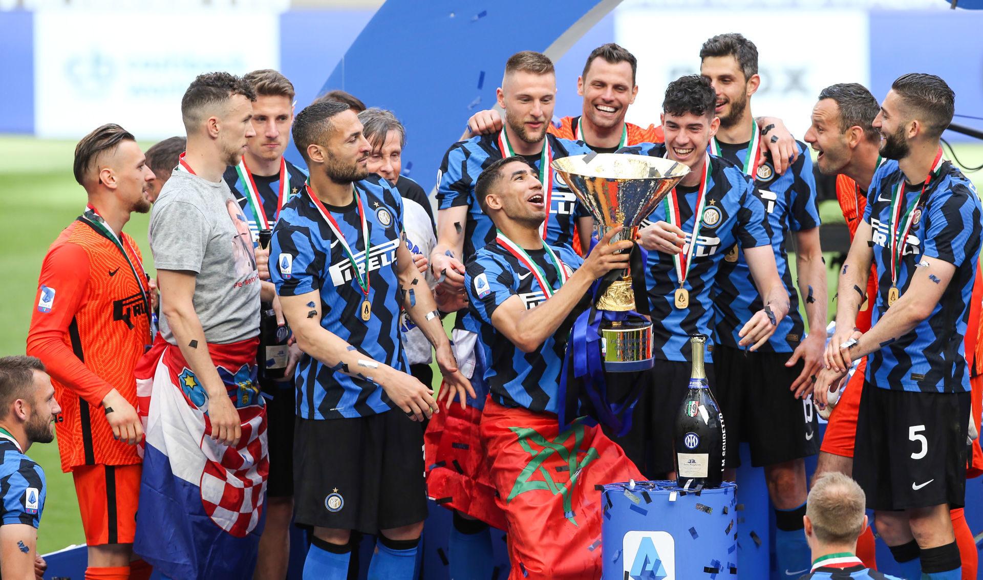 Achraf Hakimi s'est offert son premier titre de Champion d'Italie avec l'Inter Milan (iconsport)