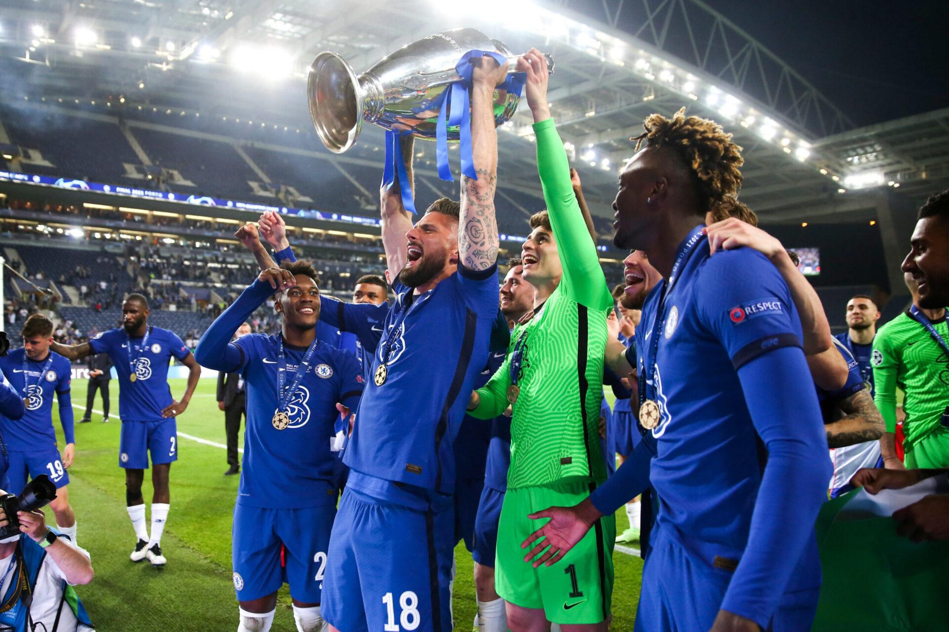Nouveau titre ce week-end pour Olivier Giroud, vainqueur de la Ligue des Champions avec Chelsea (iconsport)