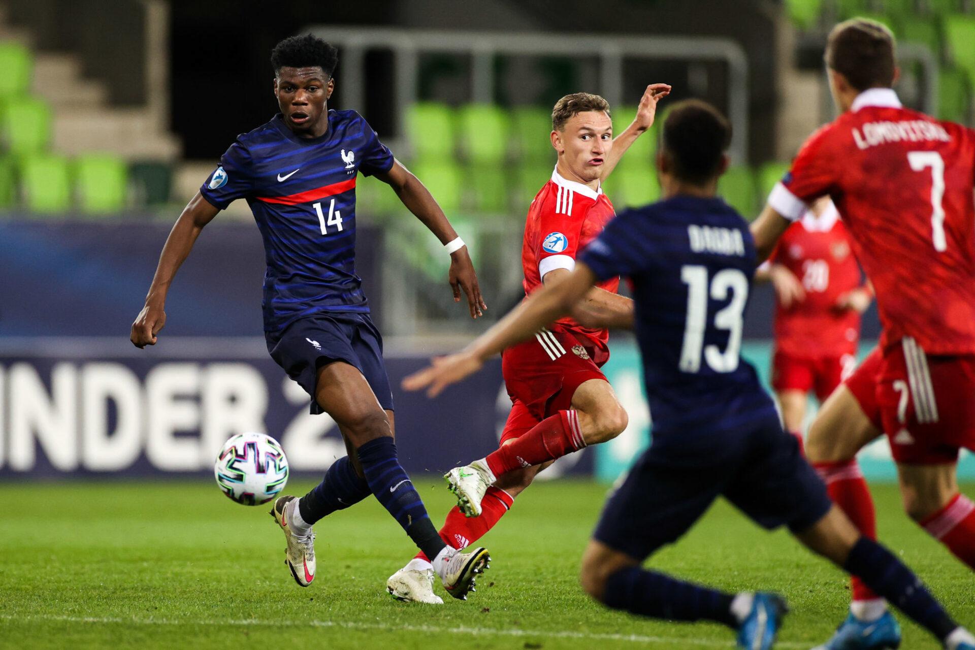 Aurélien Tchouaméni va tenter de gagner l'Euro avec les espoirs de l'équipe de France (iconsport)