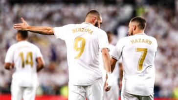 Eden Hazard est content du retour de Benzema en Bleu (iconsport)