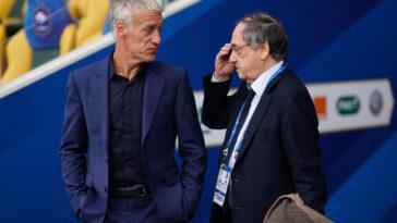 Noël Le Graët a confié comment l'idée d'un retour de Karim Benzema en équipe de France s'est installée dans l'esprit de Didier Deschamps. Icon Sport