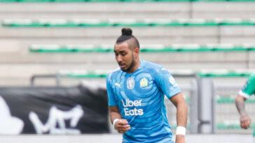 Saint-Etienne a joué un très mauvais tour à l'OM de Dimitri Payet (1-0) ce dimanche 9 mai. Icon Sport