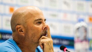 Jorge SAMPAOLI met un coup de pression sur ses joueurs (iconsport)