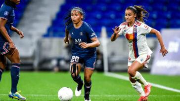 L'équipe féminine du PSG s'est balisé la voie vers le titre en tenant Lyon en échec (0-0) ce dimanche 30 mai. Icon Sport