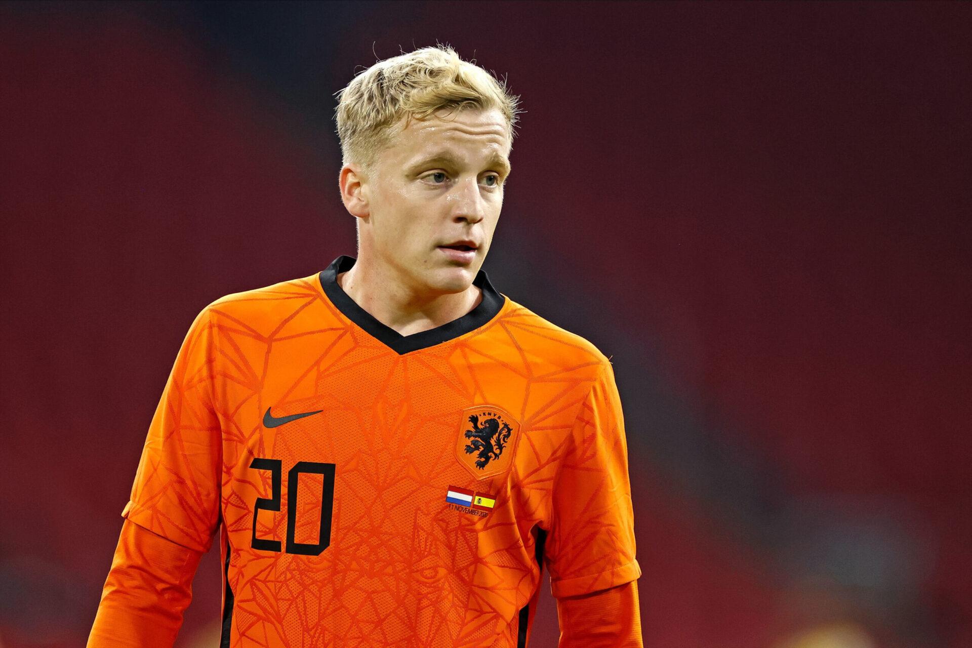 Malgré une saison décevante sur le plan personnel, Donny Van De Beek est bien dans la liste des Pays-Bas (iconsport)