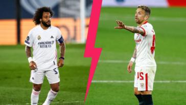 """Marcelo sera titulaire au sein d'une défense du Real Madrid décimée face au FC Séville de """"Papu"""" Gomez, ce dimanche 9 mai à 21h. Icon Sport"""