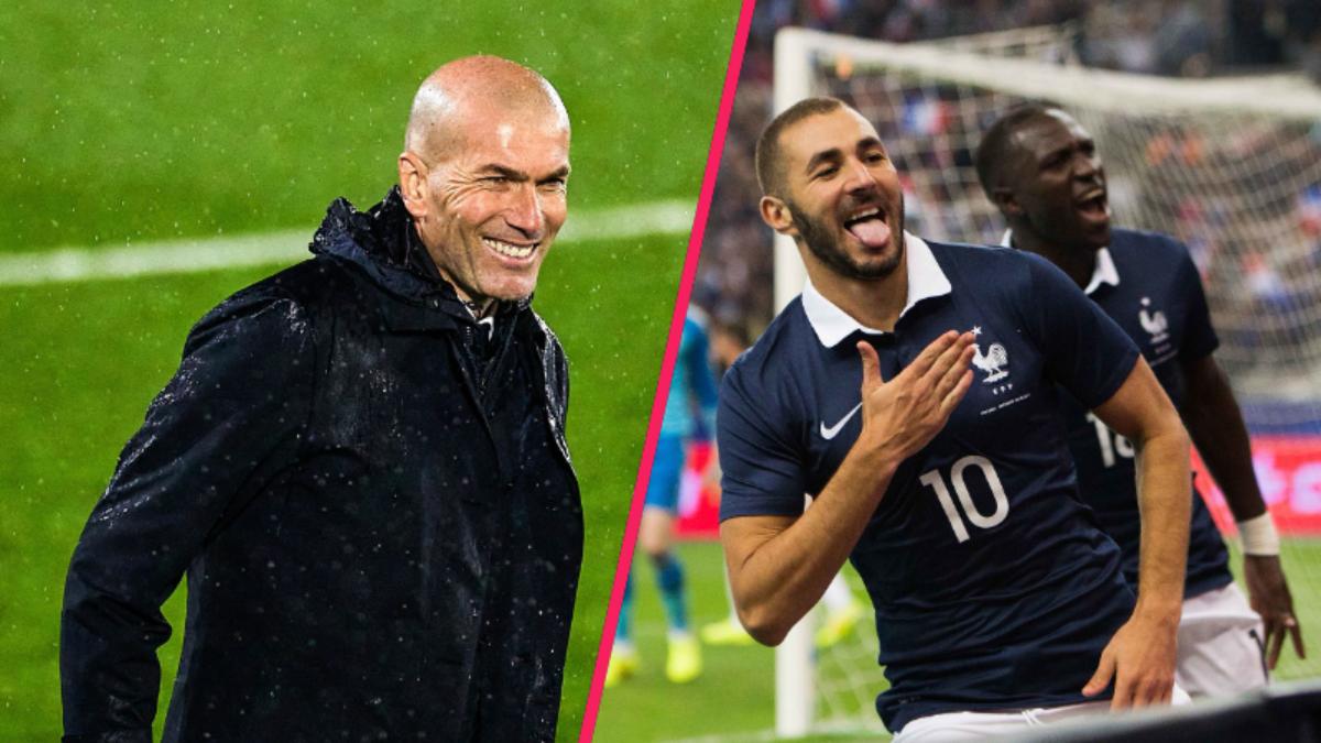 Zinédine Zidane s'est exprimé sur le retour de Karim Benzema en équipe de France. Icon Sport