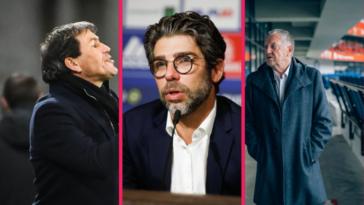 C'est la guerre entre Rudi Garcia, Juninho et Jean-Michel Aulas depuis le limogeage du premier à Lyon. Icon Sport