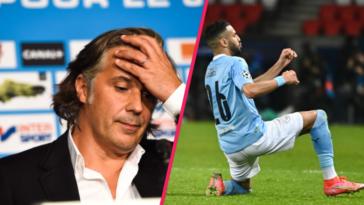 Vincent Labrune peut s'en mordre les doigts : il a laissé filer Riyad Mahrez en 2014 alors que le futur as de Manchester City s'était proposé au club... Icon Sport