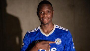 Patson Daka a signé 5 ans à Leicester (lcfc.com)