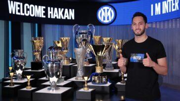 Hakan Çalhanoğlu est officiellement un Nerazzurri - Twitter @hakanc10