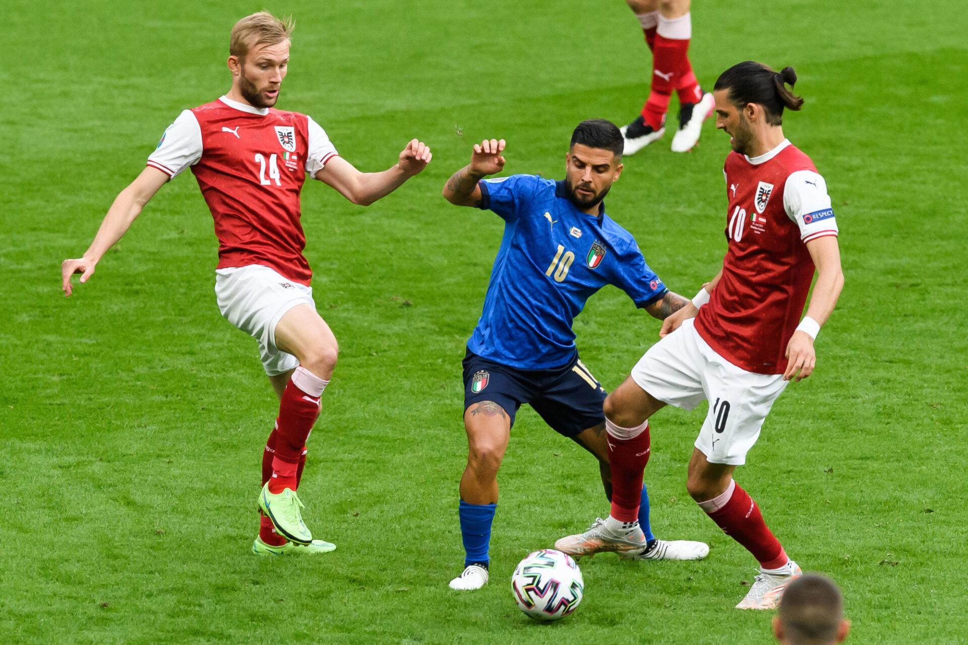 L'Autriche est entrée dans la partie sans avoir froid aux yeux. Icon Sport