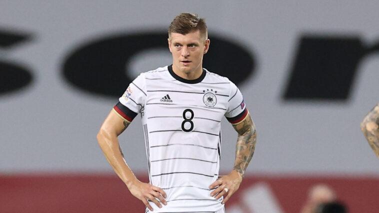 Toni Kroos a livré en conférence de presse quelques clés de la rencontre entre les Bleus et l'Allemagne ce mardi (iconsport)