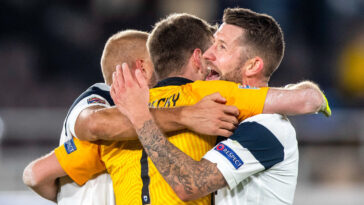 La Finlande de Pukki s'impose au Danemark et crée la sensation dans ce début d'Euro. Icon Sport