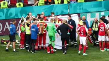 Le médecin de la sélection danoise a expliqué comment son staff avait réussi à sauver Christian Eriksen après le malaise du milieu contre la Finlande, samedi 12 juin. Icon Sport