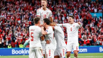 Les Danois se sont qualifiés face à une équipe de Russie impuissante (iconsport)