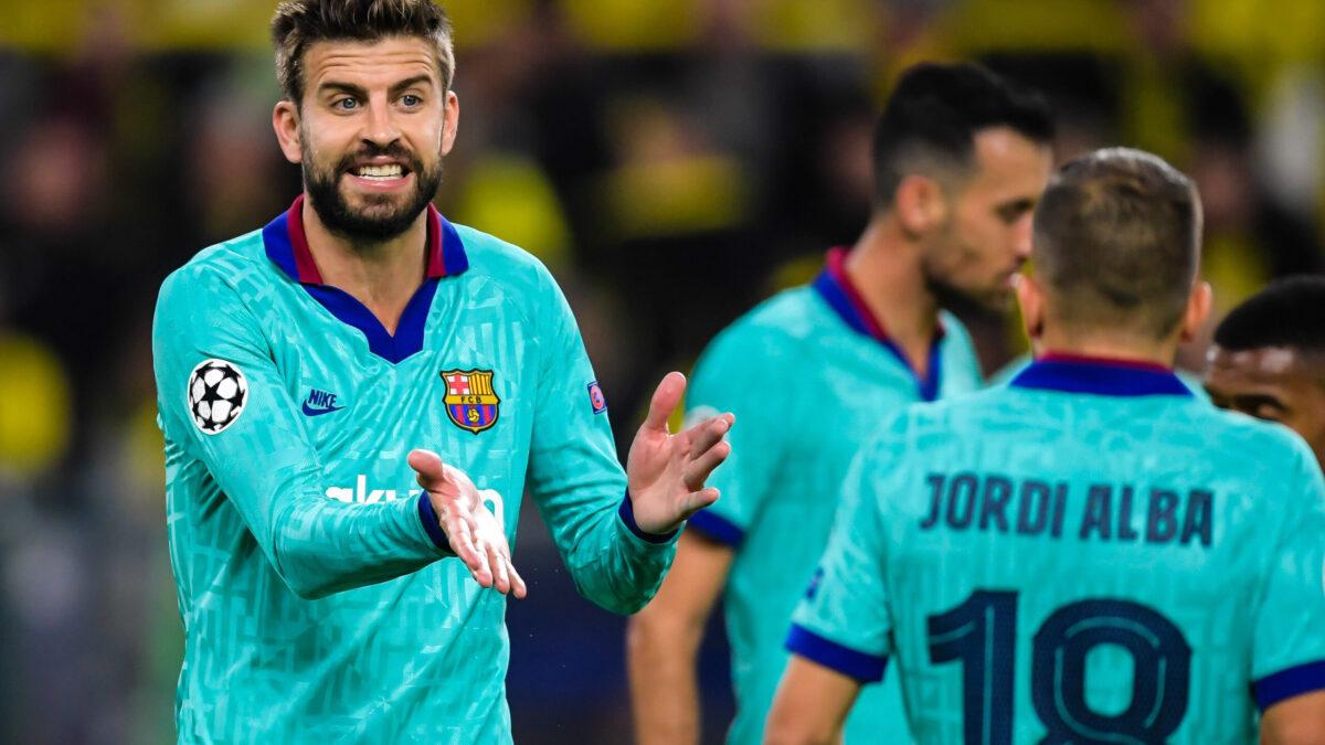 Gerard Piqué, Sergio Busquets et Jordi Alba devraient prolonger à Barcelone (iconsport)