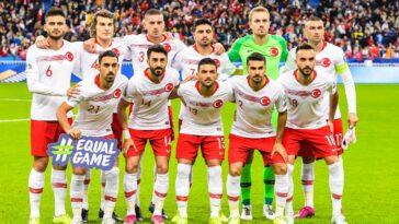 L'équipe turque au Stade de France pour son match contre la France le 14 octobre 2019 (iconsport)