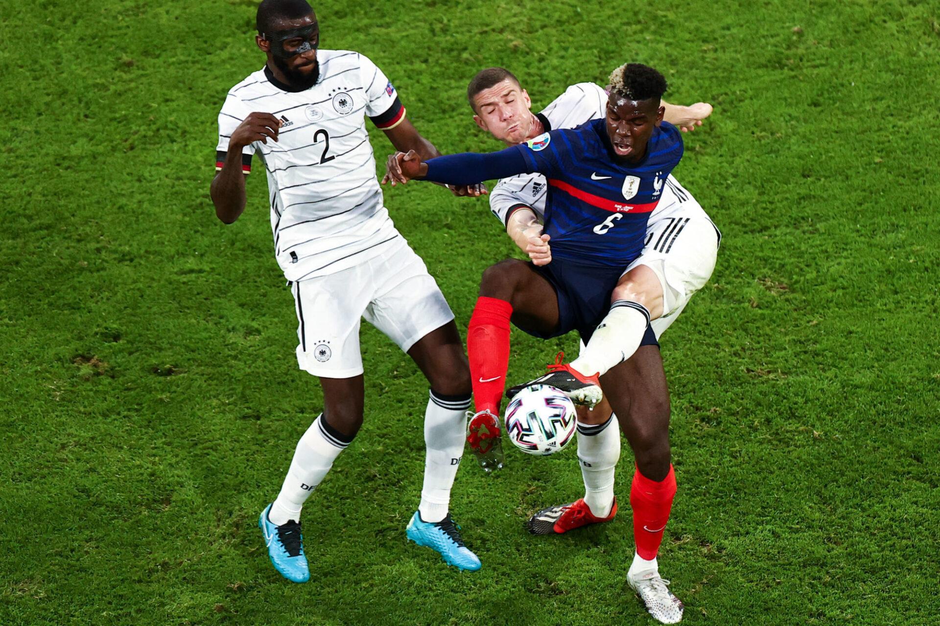 Paul Pogba a été lumineux dans l'utilisation du ballon et imprenable dans son travail défensif. Icon Sport