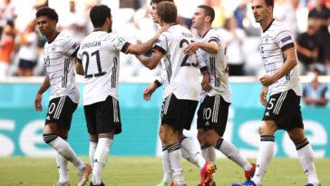 Belle performance et prestation collective de l'Allemagne face au Portugal - Icon Sport