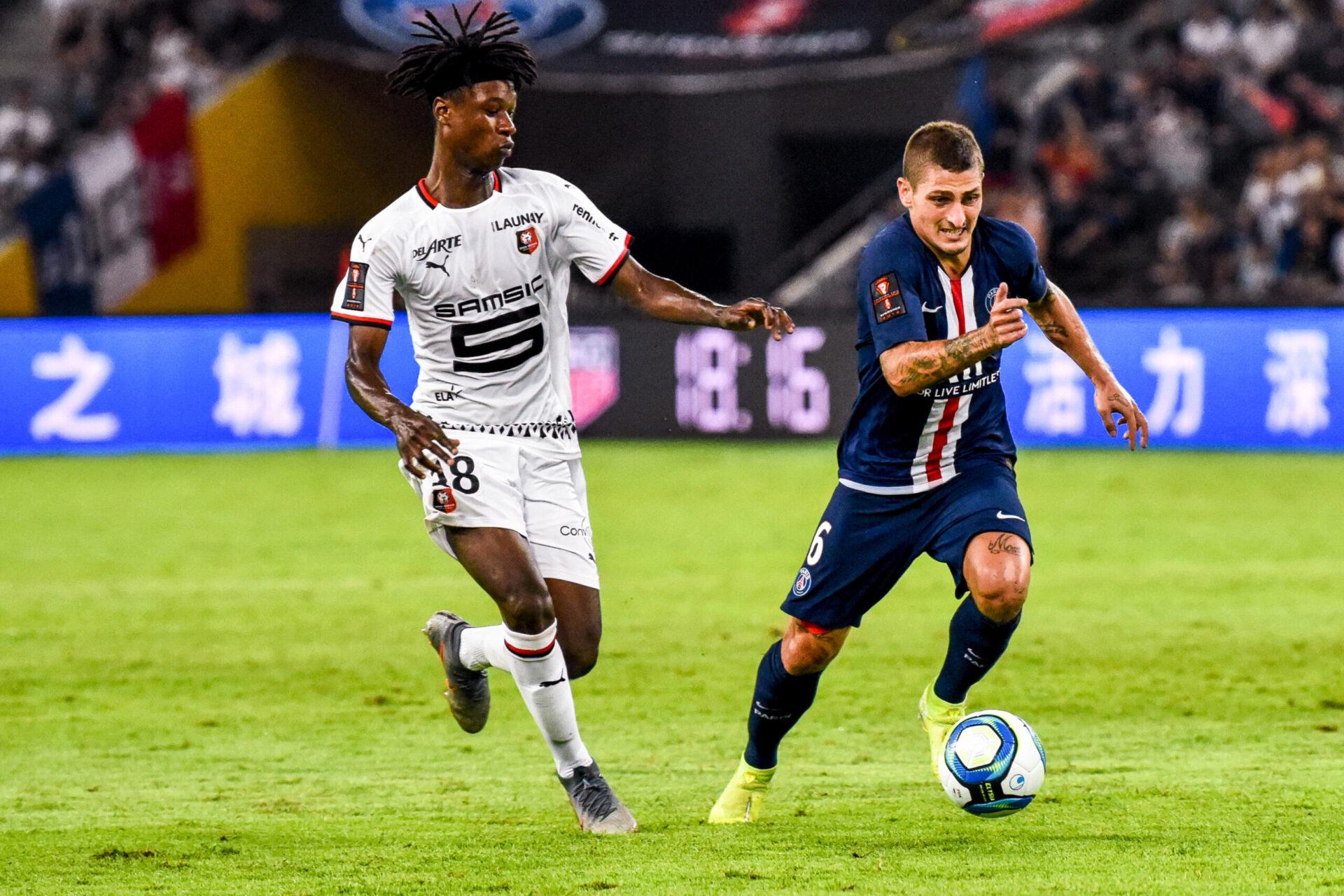 Ciblé par le Real Madrid et désormais par Manchester United, Camavinga fait du PSG sa priorité en vue de la saison prochaine (iconsport)