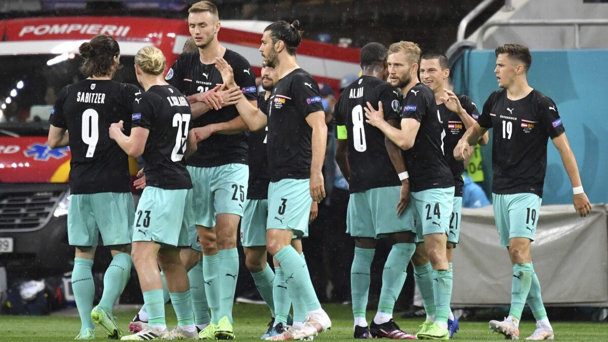 L'Autriche s'est imposée pour la première fois en phase finale. Icon Sport