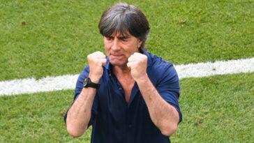 Joachim Löw a salué la réaction éclatante de son équipe contre le Portugal, après la défaite initiale face à la France. Icon Sport