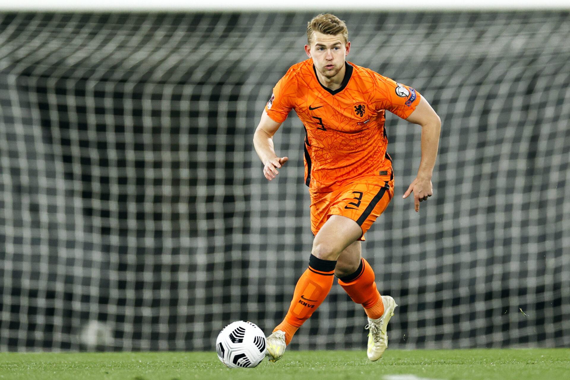 Matthijs De Ligt compte 26 sélections avec les Pays-Bas (iconsport)