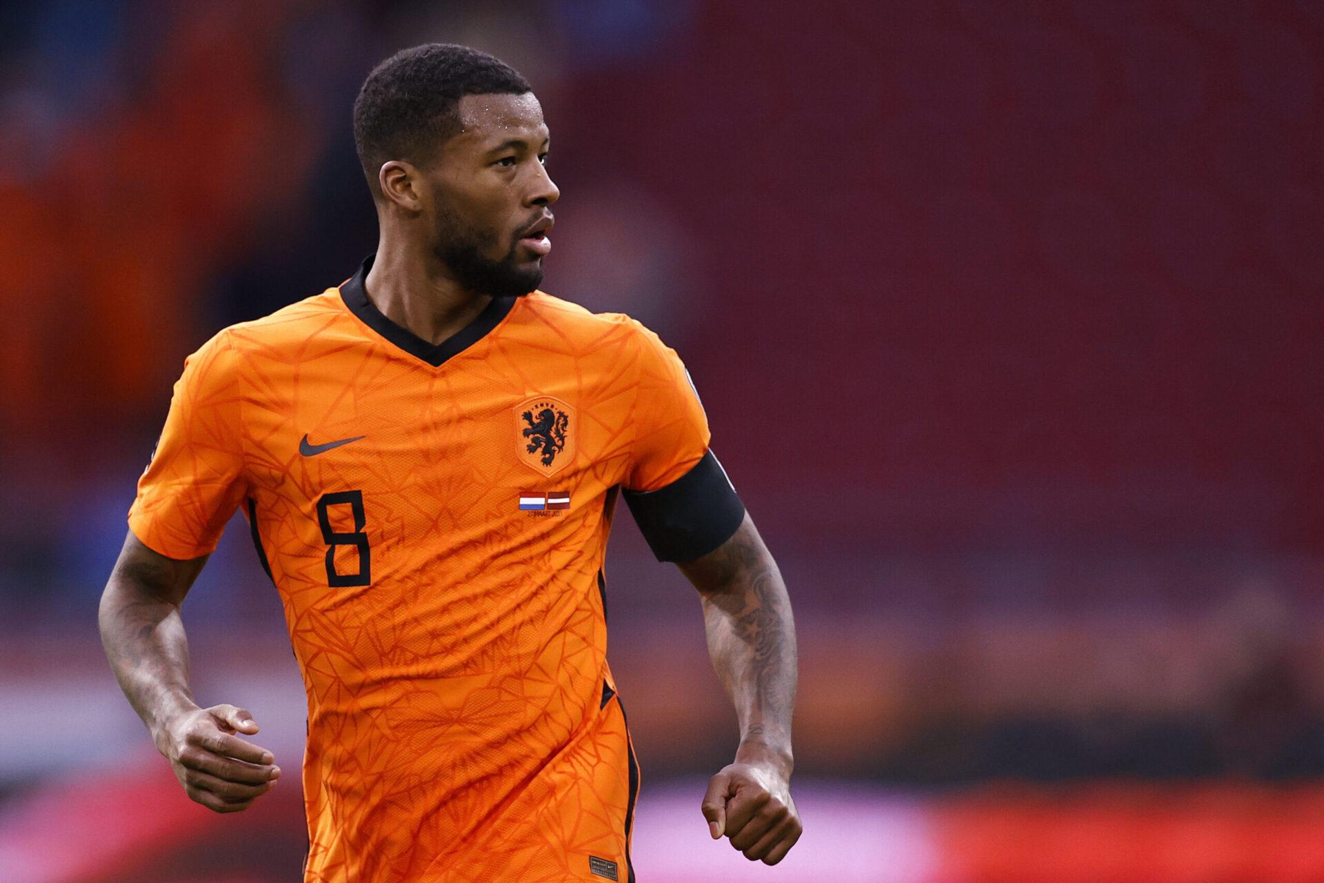 Wijnaldum jouera l'Euro avec les Pays-Bas avant de rejoindre le PSG (iconsport)